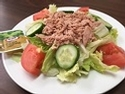 Garden Salad with Tuna